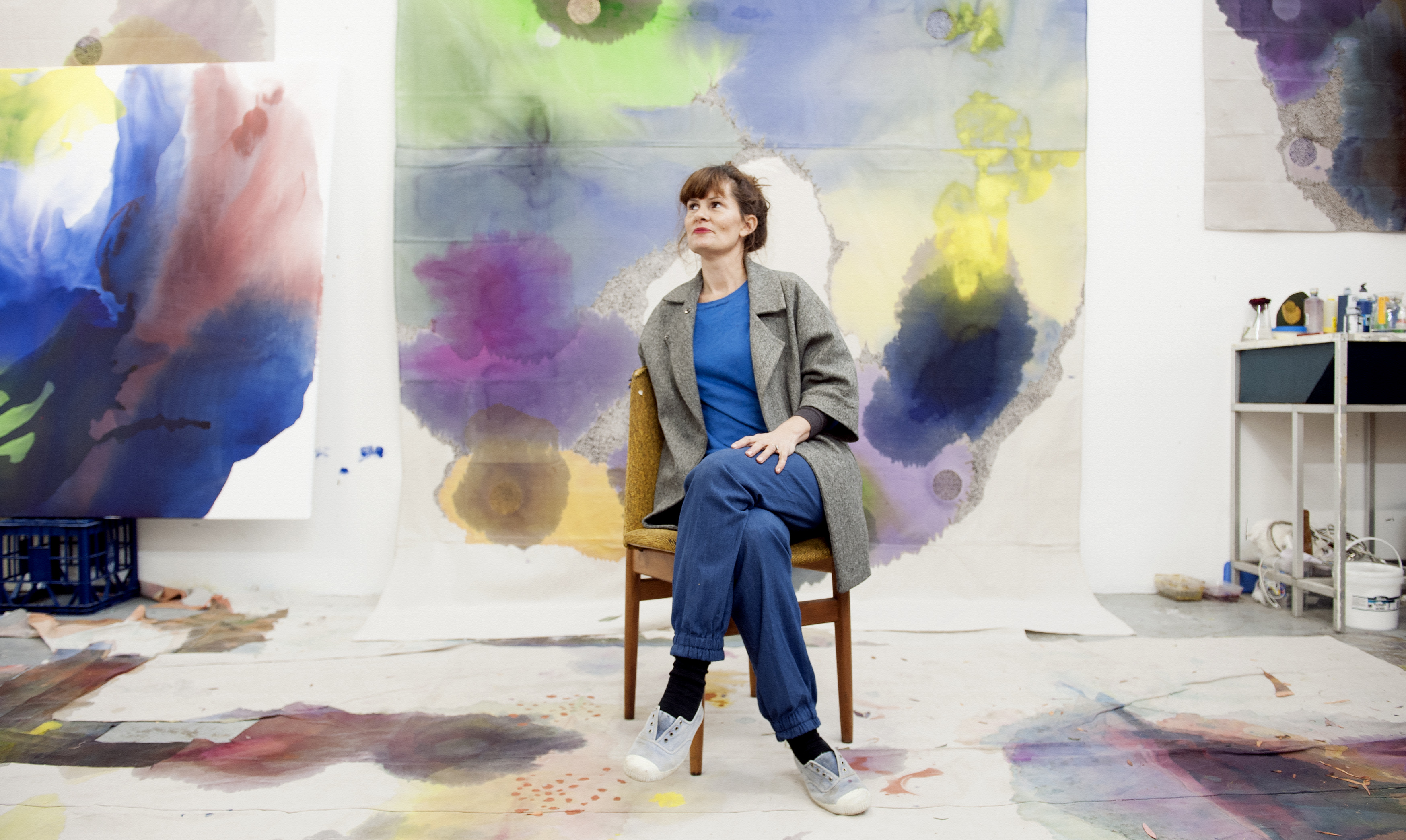 sydney artist lara merrett to create paint me in for the mca s