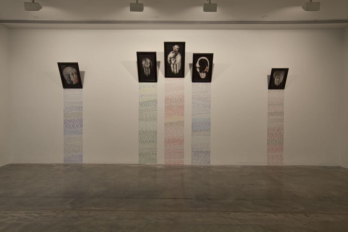 Emotional Lines In Art : Annette messager: motion emotion mca australia
